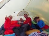 Soirée sous la tente